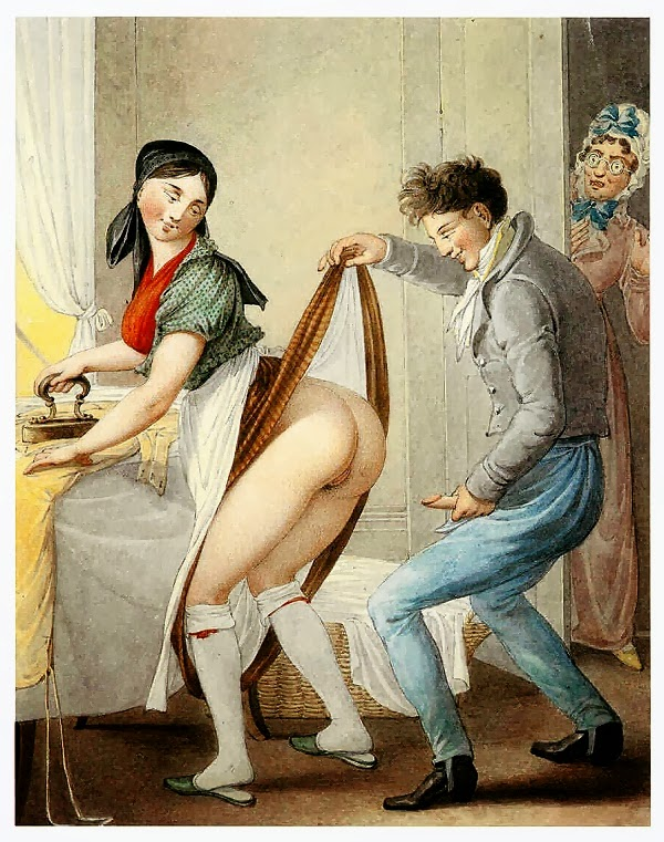 Vintage erotic art bbw