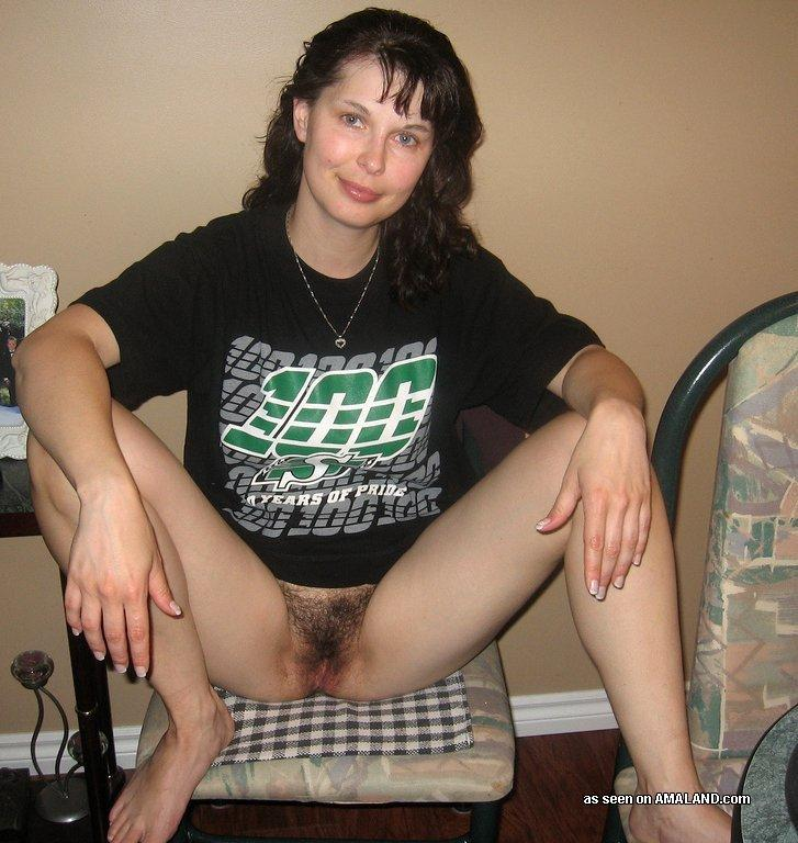 Amateur hairy wife naked