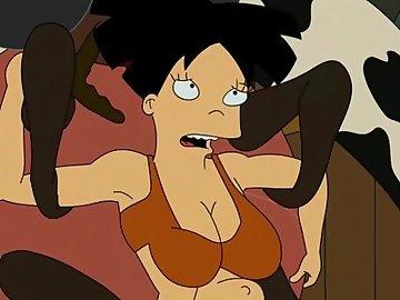 Futurama porn amy and leela