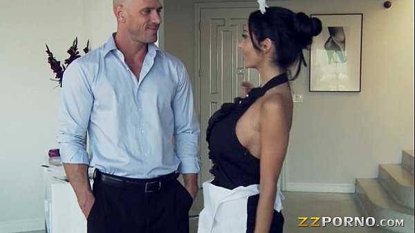 French maid ava addams threesome